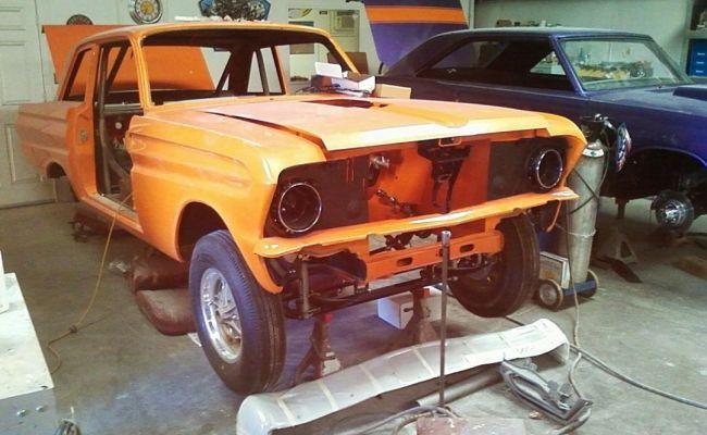 Ford Falcon Rebuild Front 2