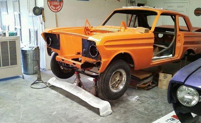 Ford Falcon Rebuild Front