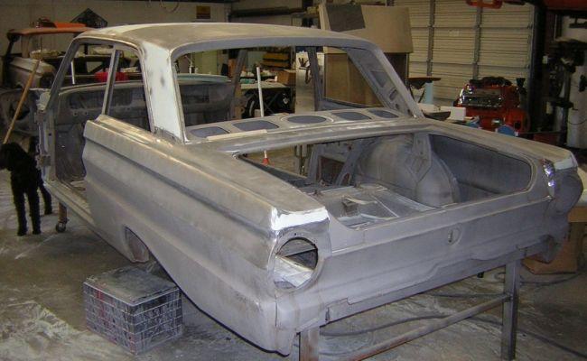 Ford Falcon Rebuild body