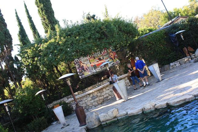 Bob & Bev pool area